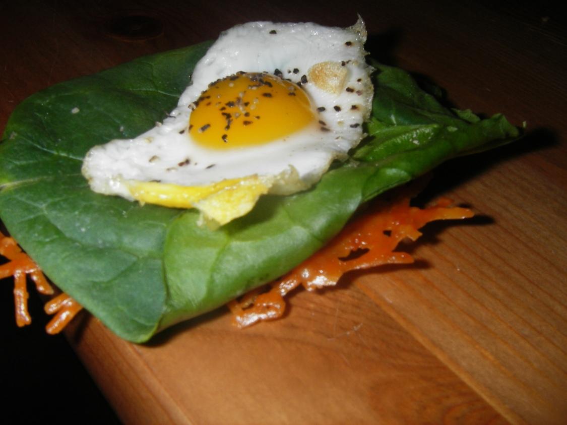 Quail Egg onParmesan