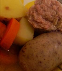 potato-sausage