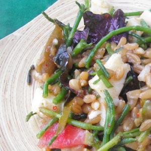 Farro Salad with Sea Beans