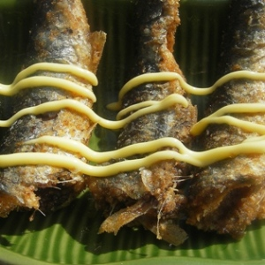Berebere Dusted Pan Fried Anchovies